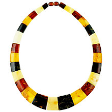 Buy Be-Jewelled Amber Cleopatra Style Collar Necklace, Multi Online at johnlewis.com