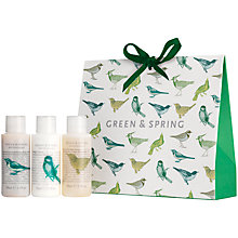 Buy Green & Spring Revitalising Bath and Body Gift Set Online at johnlewis.com