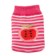 Buy John Lewis Apple Knit Handwarmer, Pink Online at johnlewis.com