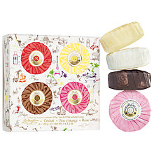 Buy Roger & Gallet Perfumed Soap Gift Set, 4 x 100g Online at johnlewis.com
