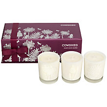 Buy Cowshed Travel Candle Trio, 3 x 35g Online at johnlewis.com