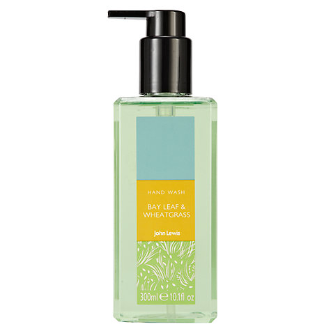 Buy John Lewis Bay Leaf & Wheat Grass Hand Wash, 300ml Online at johnlewis.com