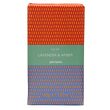 Buy John Lewis Bath & Body Lavender and Amber Soap, 150g Online at johnlewis.com