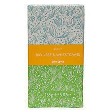 Buy John Lewis Bath & Body Bay Leaf and Wheat Grass Soap, 150g Online at johnlewis.com
