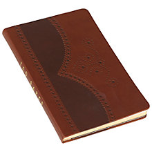 Buy Ted Baker Brogue A5 Notebook Online at johnlewis.com