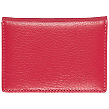 Buy Smith & Canova Leather ID Case, Pink Online at johnlewis.com