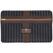 Buy Otis Batterbee Pinstripe Envelope Bag, Medium Online at johnlewis.com