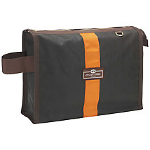 Buy Otis Batterbee Wax Olive Wash Bag, Medium Online at johnlewis.com