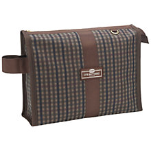 Buy Otis Batterbee Wax Check Wash Bag, Medium Online at johnlewis.com