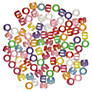 John Lewis Bright Plastic Pony Beads, 20g, Multi