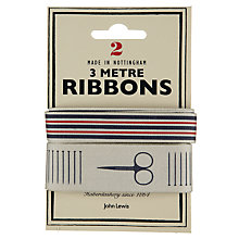 Buy John Lewis Heritage 3m Ribbon, Pack of 2, Stripes and Motifs Online at johnlewis.com