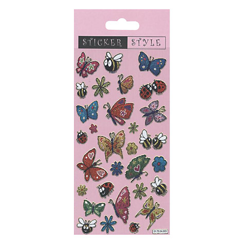 Buy Butterfly Stickers Online at johnlewis.com