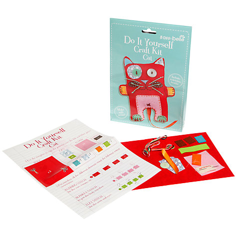 Buy Sass & Belle Do It Yourself Craft Kit, Cat Online at johnlewis.com