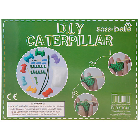 Buy Sass & Belle Do It Yourself Craft Kit, Caterpillar Online at johnlewis.com