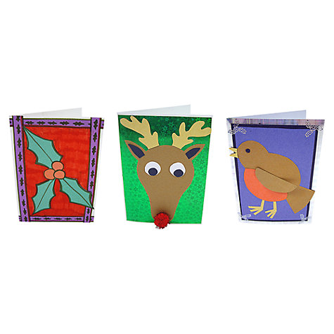 Buy Mister Maker Christmas Card Kit Online at johnlewis.com