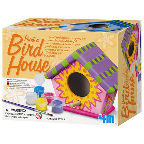 Buy Paint Your Own Bird House Kit Online at johnlewis.com