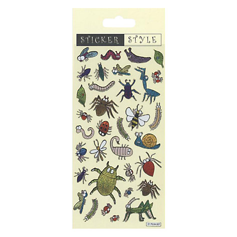 Buy Insect Stickers Online at johnlewis.com