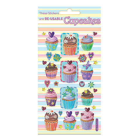 Buy Cupcake Stickers Online at johnlewis.com