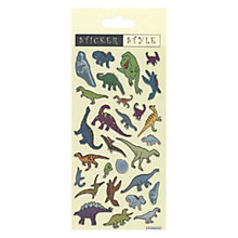 Buy Dinosaur Stickers Online at johnlewis.com