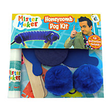 Buy Mister Maker Dog Honeycombe Kit Online at johnlewis.com