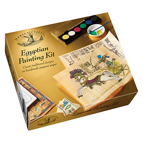 Buy Egyptian Painting Kit Online at johnlewis.com