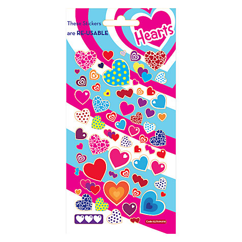 Buy Funky Heart Stickers Online at johnlewis.com