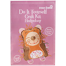 Buy Sass & Belle Do It Yourself Craft Kit, Hedgehog Online at johnlewis.com