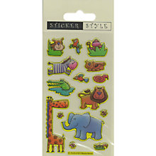 Buy Jungle Animals Stickers Online at johnlewis.com
