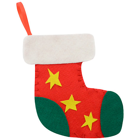 Buy Mister Maker Make Your Own Christmas Stocking Kit Online at johnlewis.com