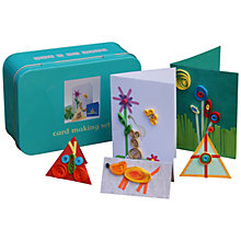 Buy Apples To Pears Mini Tin, Card Making Set Online at johnlewis.com