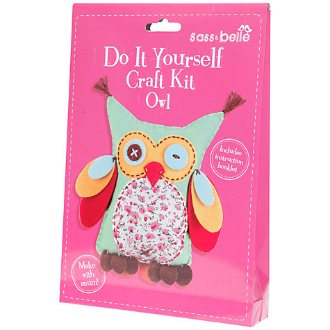 Buy Sass & Belle Do It Yourself Craft Kit, Owl Online at johnlewis.com