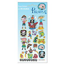 Buy Pirates Stickers Online at johnlewis.com