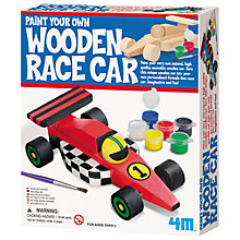 Buy Great Gizmos Wooden F1 Race Car Online at johnlewis.com