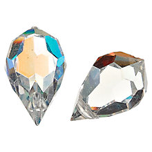 Buy Groves A La Mode Trimits Deluxe Crystal Charms, Teardrops, Pack of 2 Online at johnlewis.com