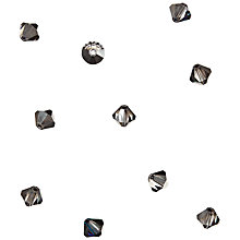 Buy Groves A La Mode Trimits Deluxe Crystal Rondelle Beads, Silver, Pack of 10 Online at johnlewis.com