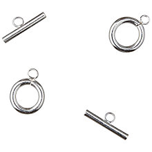 Buy Groves A La Mode Trimits Deluxe Findings Toggle Clasps, Silver, Pack of 2 Online at johnlewis.com