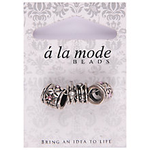 Buy Groves A La Mode Diamante Charms, Pack of 3, Multi Online at johnlewis.com
