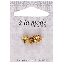 Buy Groves A La Mode Ethnic Charms, Pack of 3, Gold Online at johnlewis.com