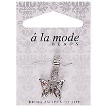 Buy Groves A La Mode Charm, Butterfly, Silver Online at johnlewis.com