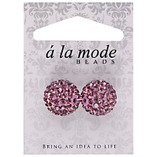 Buy Groves A La Mode Decorative Embellished Beads, Pack of 2 Online at johnlewis.com