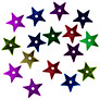 Buy Groves A La Mode Trimits Essentials 1cm Stars, Pack of 30, Multi Online at johnlewis.com