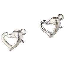 Buy Groves A La Mode Trimits Jewellery Heart Trigger Clasps, Pack of 2 Online at johnlewis.com