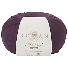 Buy Rowan Pure Wool Aran Yarn Online at johnlewis.com