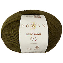 Buy Rowan Pure Wool 4 Ply Yarn, 50g Online at johnlewis.com
