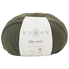 Buy Rowan Big Wool Yarn, 100g Online at johnlewis.com