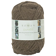 Buy Rowan British Sheep Breeds Chunky Undyed Yarn, 100g Online at johnlewis.com