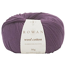 Buy Rowan Wool Cotton Yarn Online at johnlewis.com