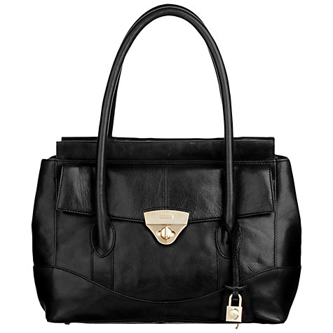 Buy Modalu Millie Medium Shoulder Handbag,White Online at johnlewis.com