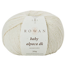 Buy Rowan Baby Alpaca DK Yarn, 50g Online at johnlewis.com