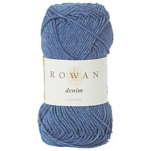 Buy Rowan Denim Cotton Yarn Online at johnlewis.com